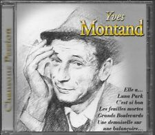 CD COMPIL 18 TITRES--YVES MONTAND--CHANSONS PASSION--NEUF