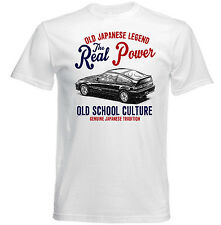 VINTAGE JAPANESE CAR HONDA CRX - NEW COTTON T-SHIRT