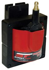 MSD 5527 Ignition Coil Street Fire E-Core Square Epoxy Red 48000 V Ford TFI