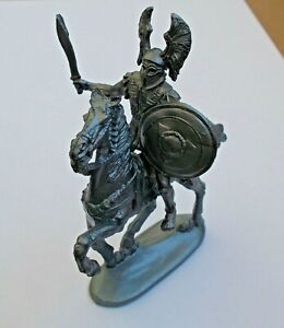 1/30 Mounted Ancient Greek Warrior with Sword Plastic Model KIT Toy Soldier