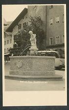Oostenrijk  Zell am See  Stadtbrunnen
