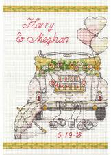 Wedding Day Car Cross Stitch Kit