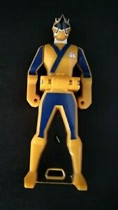 Yellow Power Ranger key Samurai Sentai Shinkenger Bandai manga mmpr anime figure