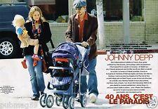 Coupure de Presse Clipping 2003 (6 pages) Johnny Depp et Vanessa Paradis