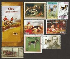English Foxhound *Int'l Dog Postage Stamp Art Collection*Grea 00004000 t Gift Idea*