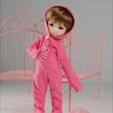 """Dollmore 1/6 Bjd 10"""" Clothes Dear Doll Size - Bambi uzu All-in-one (Pink)"""