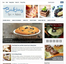 * BAKING TIPS * turnkey website business for sale w/ DAILY AUTO CONTENT UPDATES