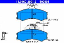 Bremsbelagsatz, Scheibenbremse für Bremsanlage Vorderachse ATE 13.0460-2901.2