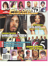 "ENCORE HD HAIR MAGAZINE,    VOLUM. 8     ( AHMAD "" REAL "" GIVENS, REAL SILKY  )"