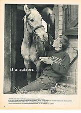 PUBLICITE ADVERTISING  1957   NESCAFE  café soluble