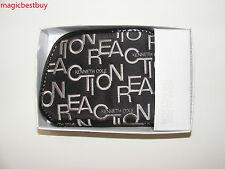 Brand New Authentic Kenneth Cole Women's Black Zip Around Wallet In Original Box