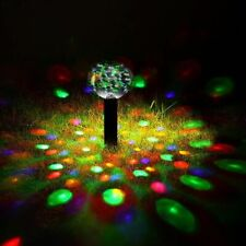 Led Underwater RGB Lights Solar Powered Pond Pool Floating Outdoor Party Decor