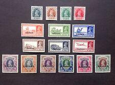 Bahrain 1938-41 sovrastampa Set sull'India SG20-37