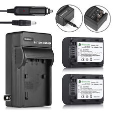 NP-FH50 Battery / Charger For Sony NP-FH40 NP-FP50 DSC-HX1 HX100V A230 A330 A380