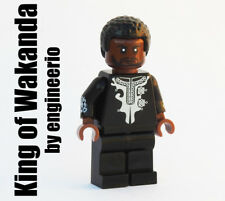 LEGO Custom King of Wakanda Marvel Super heroes minifigures Black Panther MCU
