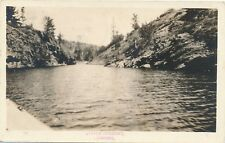 LITTLE CURRENT ON – Little Current Real Photo Postcard –Manitoulin Island - 1942