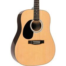 1980s Vintage Fender Acoustic Left-Handed Guitar, Carrying Case Included