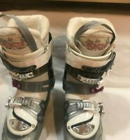 Dalbello Raya  Trufit Downhill Alpine Ski Boots Floral pattern sz US 6.5 / 24.5