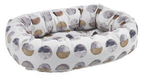 Bowsers Pet Luxury Cushioned Donut Dog Bed with Microvelvet Fabric