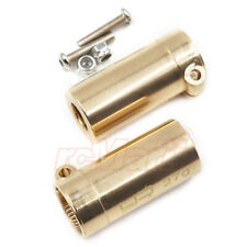 Yeah Racing Brass Rear Axle Lock Out 2pcs For Axial SCX10 II RC Cars #AXSC-007