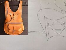 Leather Pattern DIY Designs Bag Paper Sweing Template Drawing Tools 9020