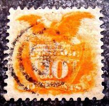 Buffalo Stamps, Scott 116, 1869 Pictorial, SUPERB Center & Cancel, CV = $150
