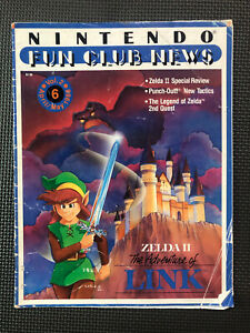 Vintage Nintendo Fun Club News NES newsletter April/May 1988 issue #6