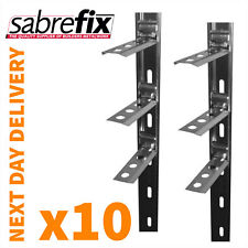 10 x Wall Starter Kits - Stainless Steel - Ties & Fixings UK MADE / NEXT DAY FOC