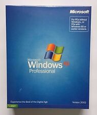 MICROSOFT Windows XP Professional 32bit IN SCATOLA COMPLETO VERSIONE RETAIL-SIGILLATO
