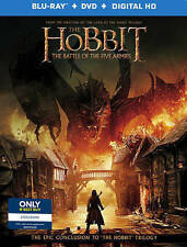 Hobbit The Battle of the Five Armies [Digital Copy] [Blu-ray/DVD] [UltraViolet]