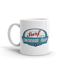 Surf Longboard 10oz de alta calidad té café taza #4489