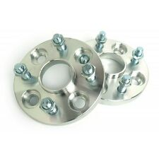 2 Pcs Wheel Spacers 4x100 To 4X100   54.1 CB   12X1.5   15MM For Miata NA NB JDM