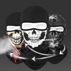 Tactical Skull Balaclava Full Face Mask Motorcycle Helmet Liner Halloween Mask