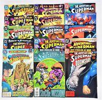 The Adventures of Superman DC Comics Lot of 15