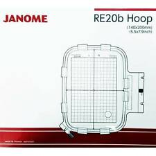 Janome RE20b Hoop for the MC500E Embroidery Machine 140x200 NEW