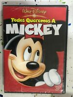 Walt Disney DVD Decorativa Quello che Vogliamo A Mickey - Vedi Foto