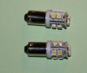 Rover P5 LED Avant Côté Ampoules, Remplacement W5 233/989 Filament Ampoules