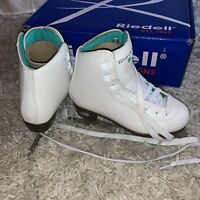 Riedell GR4 Girls 12 Ice Skates 10 Opal White 466351130 Medium