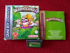 Nintendo Game Boy Advance Game Warioland 4 Boxed with manual GENUINE RARE