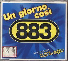 883 - Un giorno cosi' - CD 1997 SINGLE USATO OTTIME CONDIZIONI 5 TRACKS