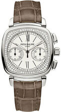 Patek Philippe 7071G-001 Ladies First Chronograph 18kt White Gold Diamond Flange
