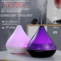 GX Diffusers Ultrasonic Aroma Diffuser Humidifier Oil Mist Aromatherapy 300ML