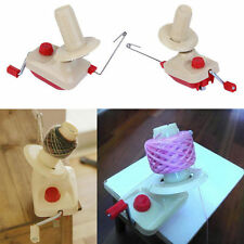 Portable Hand-Operated Yarn Winder Wool String Thread Skein Machine Tool BE