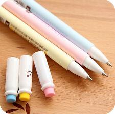 Cute Cartoon gel-ink Pen Erasable Blue Ink Ball Point Pen Office Supplies Chic F