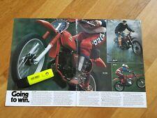 HONDA vintage NOS 1977 Smith brochure poster Elsinore 250 CB 750 GL1000 TL XL MR