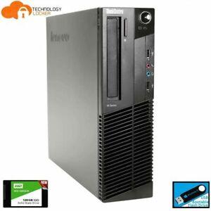Lenovo ThinkCentre M92p SFF Desktop PC Intel i5-3470 4GB RAM 500GB HDD Win 10