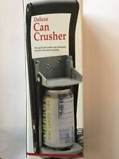 DELUXE CAN CRUSHER 500ML WALL MOUNTED TIN CAN RECYCLING