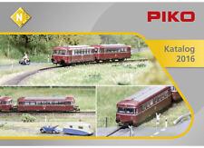 PIKO Katalog Spur N 2016 40 Seiten RAR Modellbau Züge Bahnhof