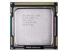 INTEL QUAD CORE I7-870 2.93GHZ 8M PROCESSOR CPU LGA1156