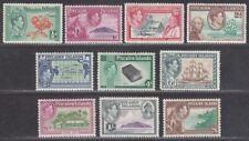 Pitcairn Islands 1940-51 King George VI Set Mint SG1-8 cat £75